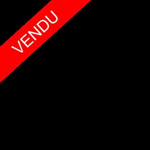 Commode Laquée Noire De Style Regence , Maison Jansen